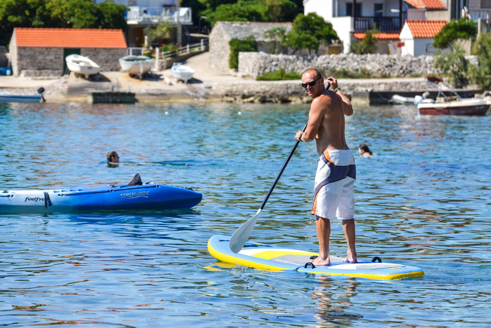 korcula windsurfing lessons extreme 10 - Location - Prizba, Korcula