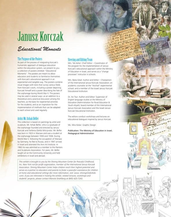 985901 Shining Mountain Poster - JANUSZ KORCZAK - Educational Moments - Mar 2013