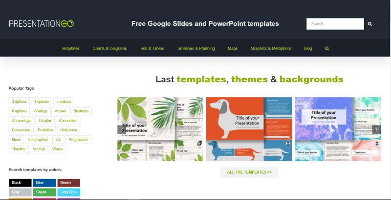 Presentation Go's Home Page