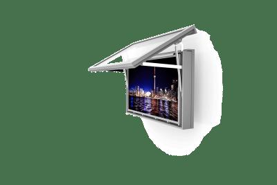 Monitoreinhausung Wand