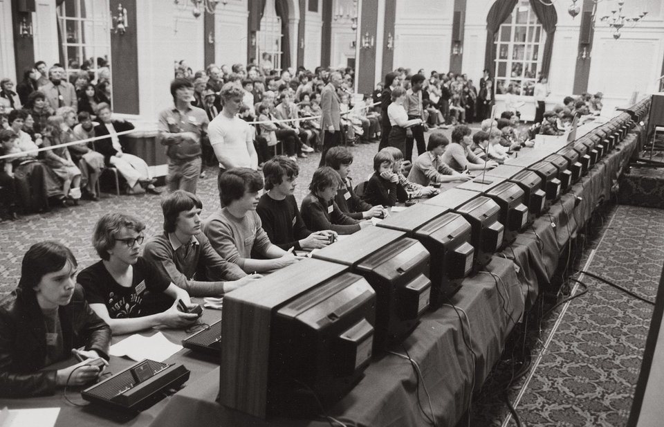 The National Space Invaders Championship held by Atari in 1980