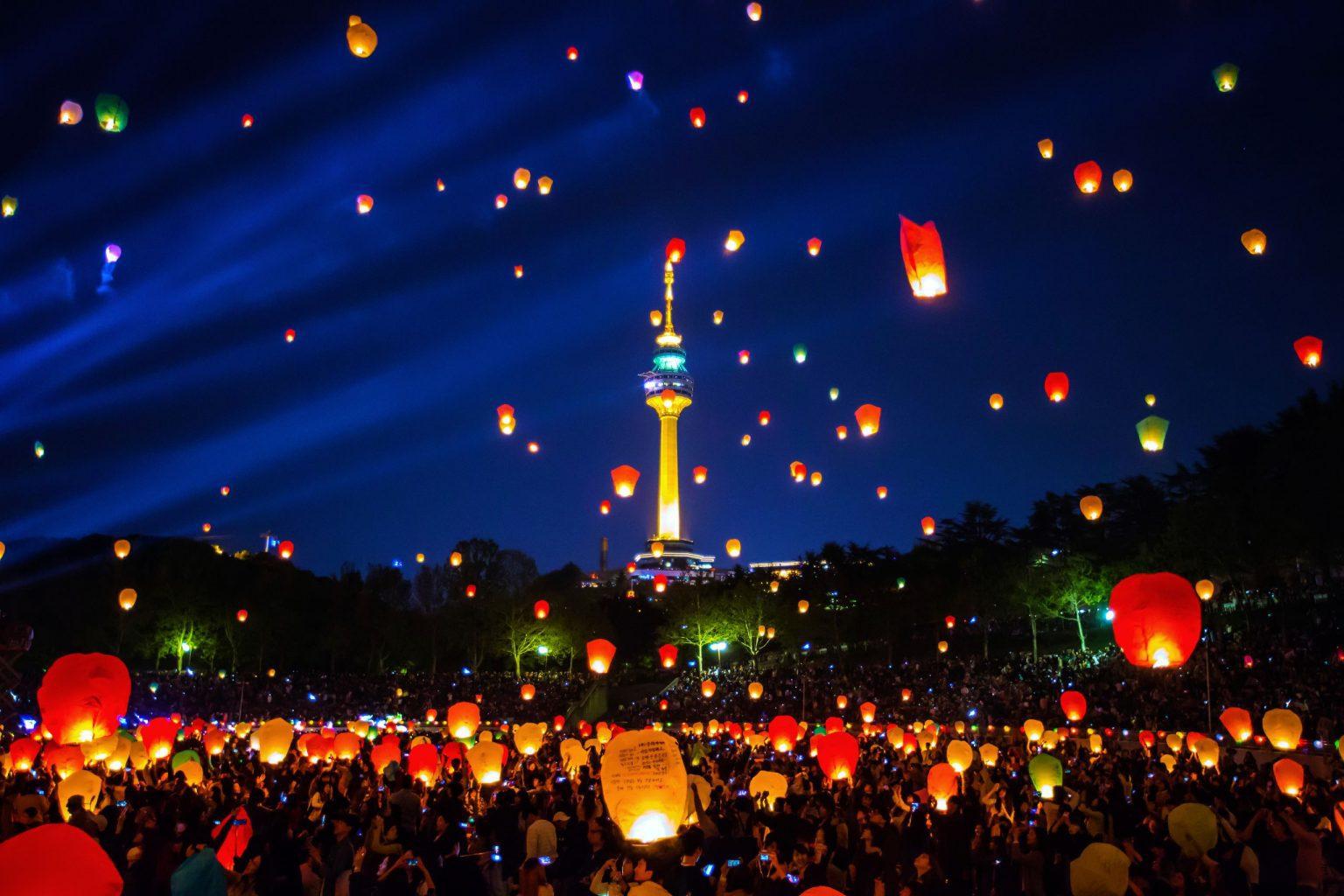Buddha's birthday: Lantern festival lights up Korea | KoreabyMe