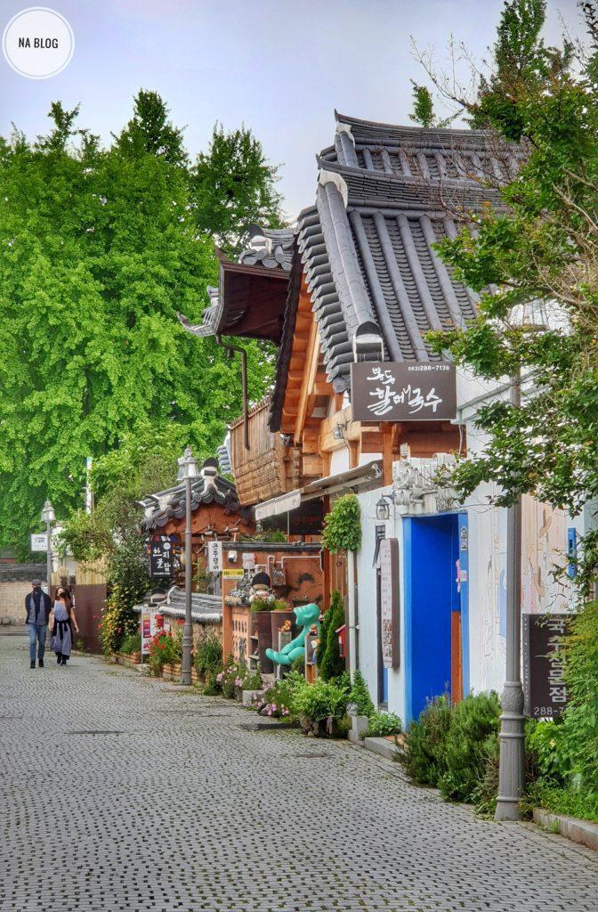 Jeonju hidden charm at a small street