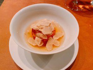 白トリュフ豆腐