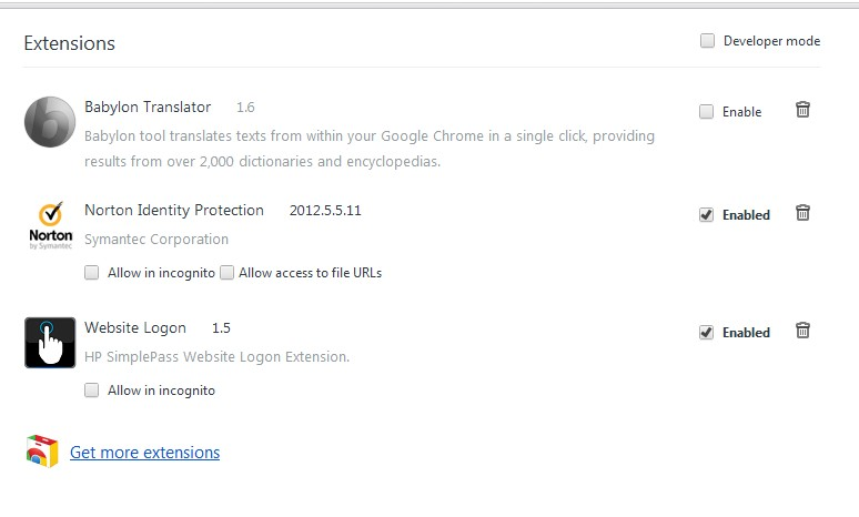 Removing Conduit from your (Chrome) browser (6/6)
