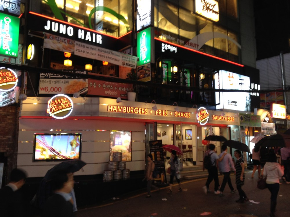 Johnny Rockets in Seoul Fizzles (2/6)