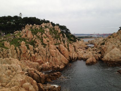 One of Ulsan's most famous parks right on the coast.