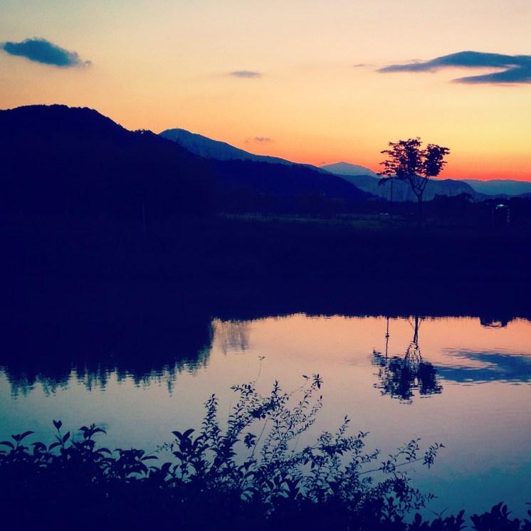Taehwa Park sunset