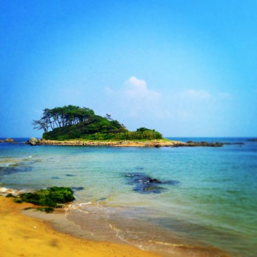 Jinha Beach (about halfway between Ulsan and Busan).