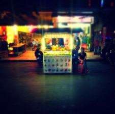 Pub Street fruit cart