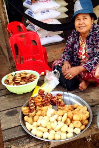 """Cambodian """"donuts."""" Sorry, but they ain't got nothin on Tim Horton's."""