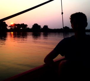 Tonle Sap sunset