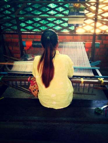 Siem Reap Artisan Silk Factory