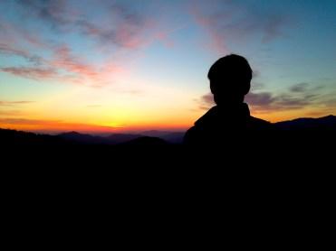 Jirisan sunrise