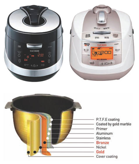 Cuckoo-Electronic Pressure Rice Cooker