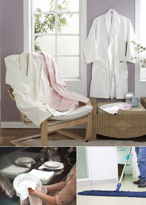 Welcron-Microfiber Cleaning & Bathing Goods