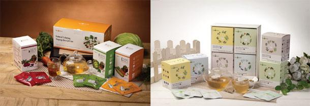 Vegetable-Soup-Teabag-&-Adaptogenic-Korean-Herbal-Blending-Tea