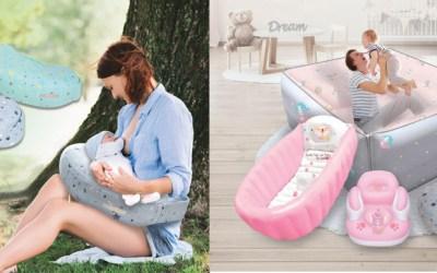 Inflatable Baby Feeding Cushion