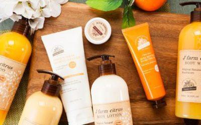 Jeju-Tangerine Natrual Hair & Body Products