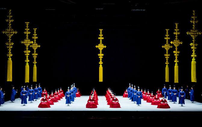 Theater representing Korea, the National Theater of Korea