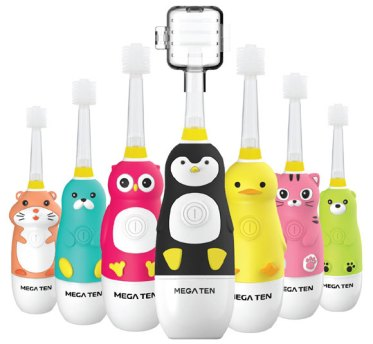 Vibrational Toothbrush for Infants