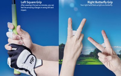 Square Golf Grip Trainer