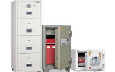 Fire-Resistant Safes & Filing Cabinets
