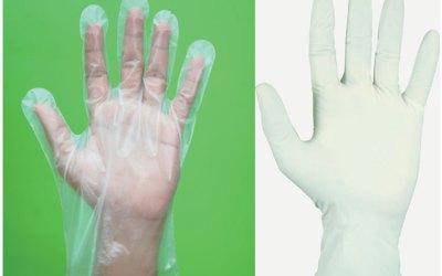 Disposable Gloves & Makeup Fixer