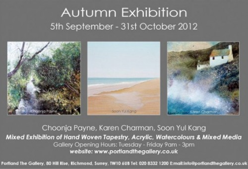 Portland the Gallery Autumn Exhibition poster