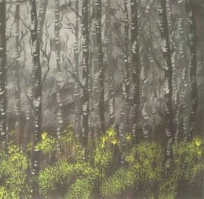 Enya Elswood: Birch trees (2011)