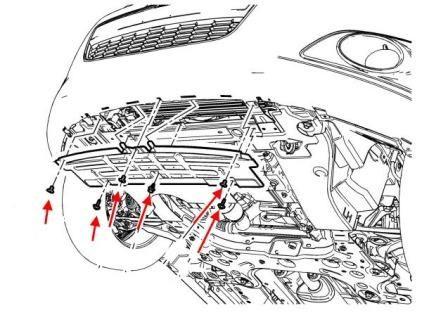 Замена переднего бампера Авео Т300: процесс, фото, видео