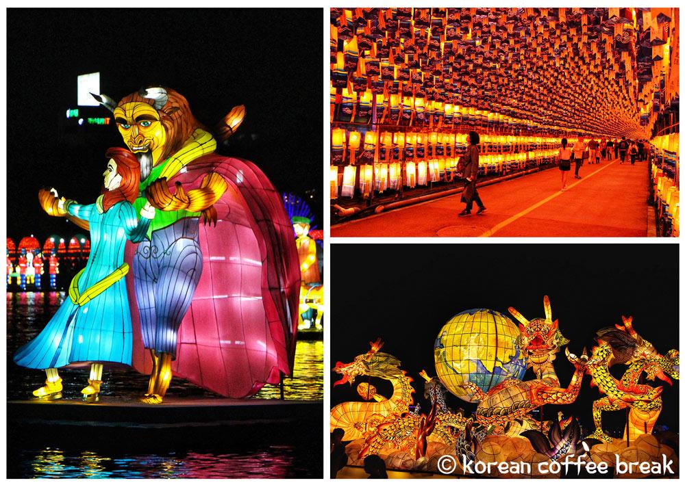 Festival des Lanternes de Jinju (진주 남강유등축제)