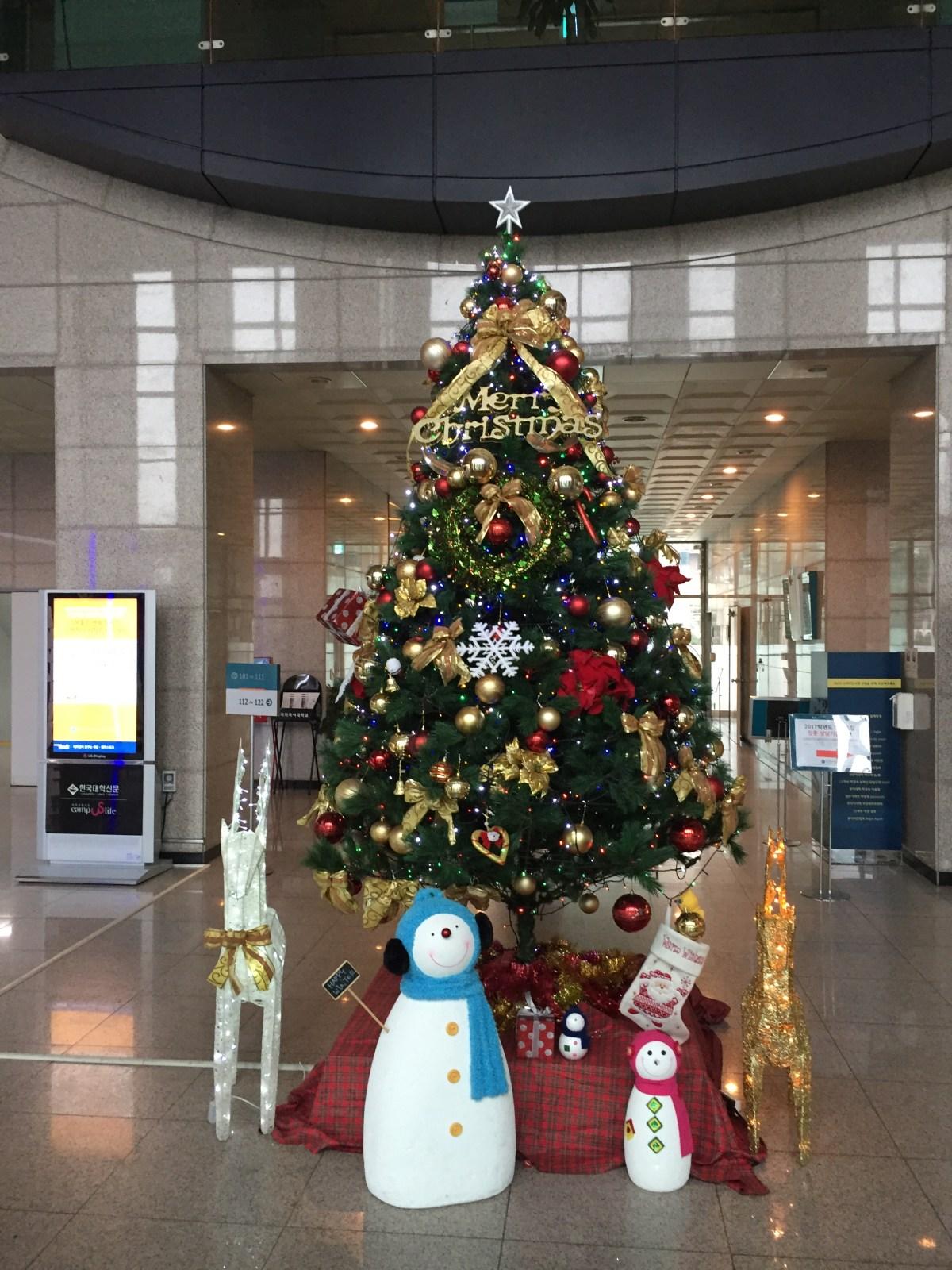 Christmas Alone Abroad - Hankuk University