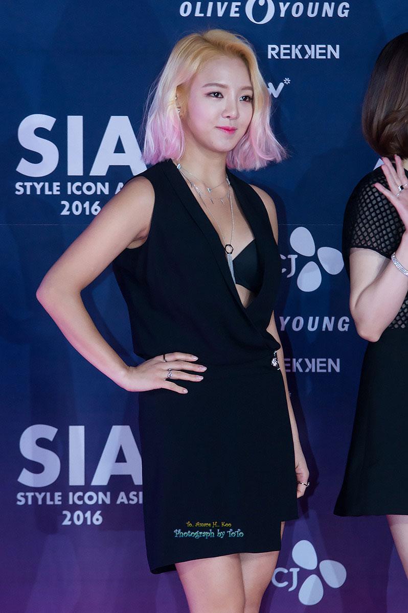 Girls Generation Hyoyeon Style Icon Asia 2016