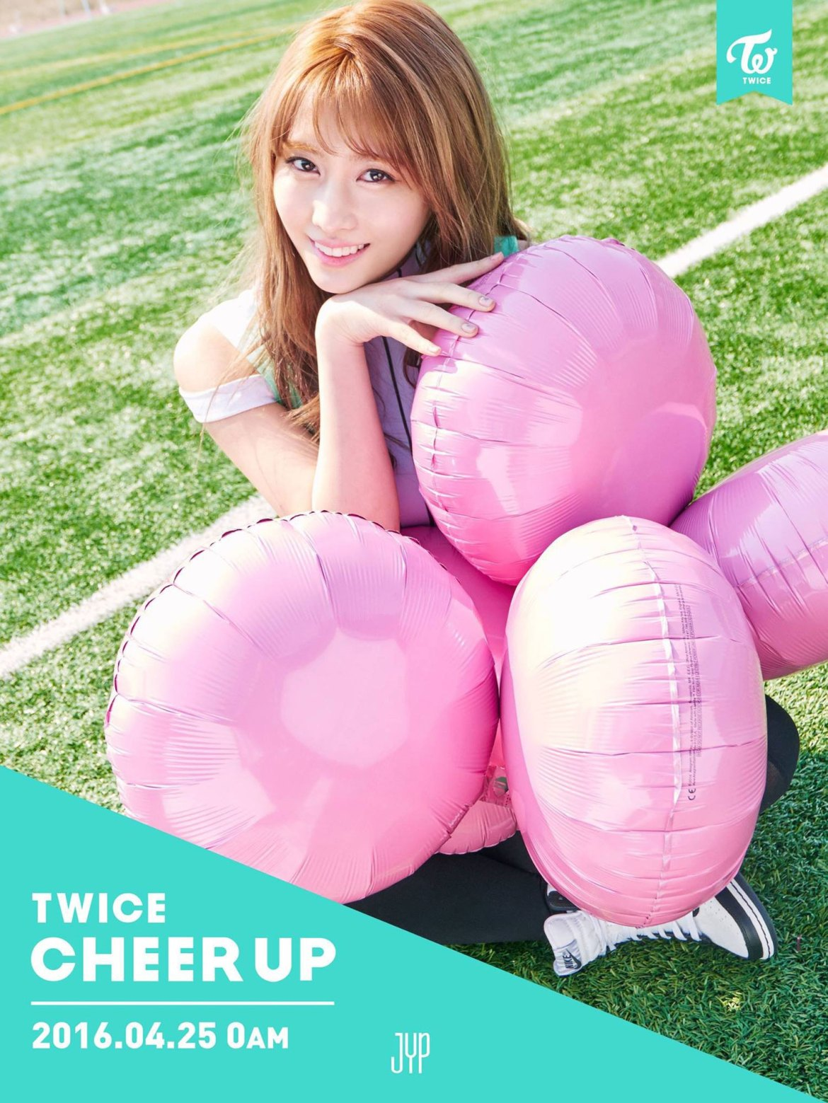 TWICE Momo Cheer Up album concept photo