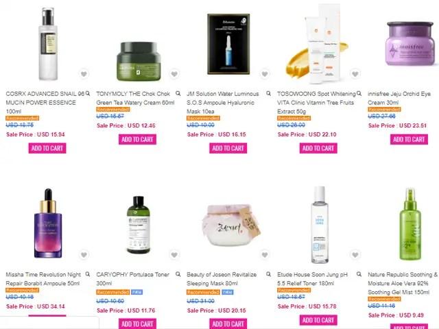 Где купить корейский уход за кожей онлайн Jolse