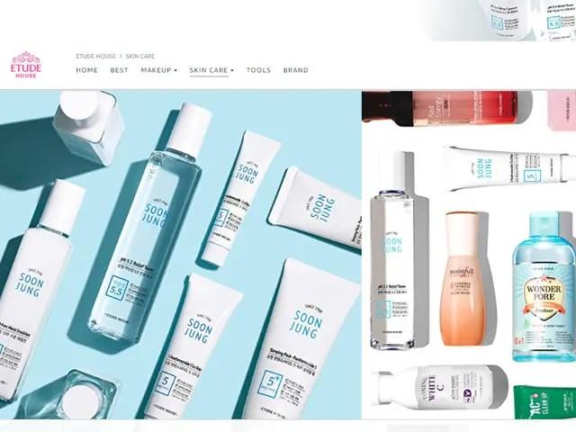 где купить корейский уход за кожей онлайн Amazon