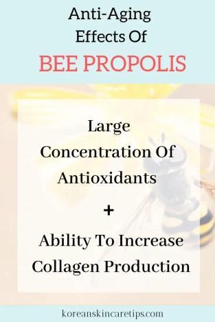propolis korean skincare anti-aging benefits