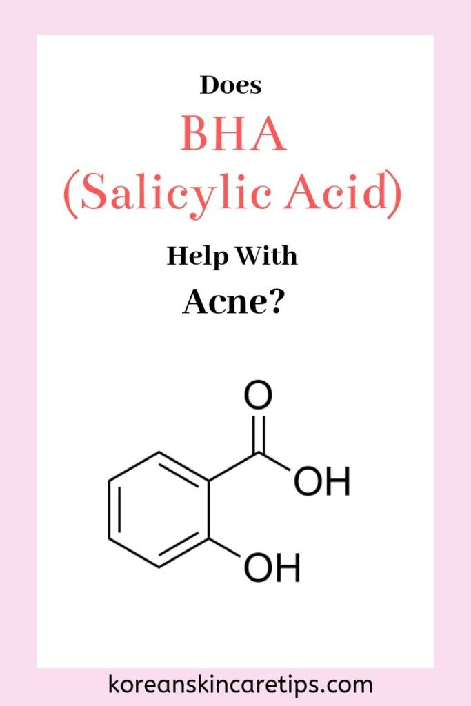 is aha or bha better for acne does bha help with acne korean skincare products with salicylic acid