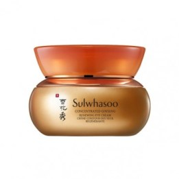Sulwhasoo Concentrated Ginseng Renewing Eye Cream  best korean hanbang skincare products with ginseng
