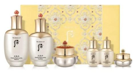the history of whoo cheongidan line korean hanbang skincare products with ginseng korean high end skincare