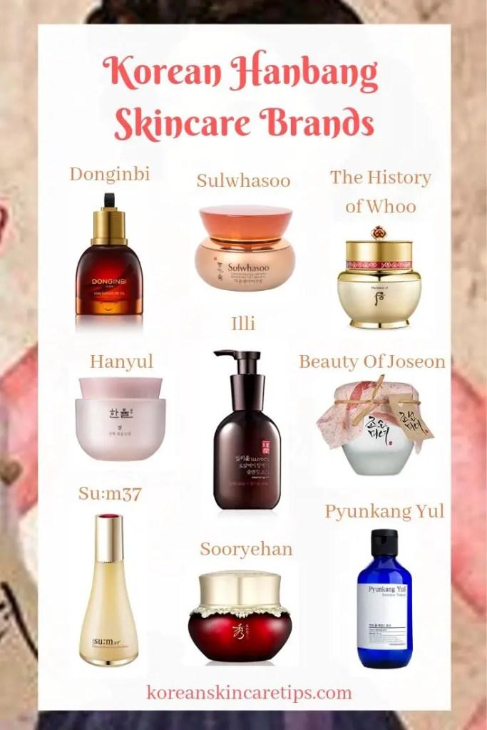 korean hanbang skincare brands donginbi sulwhasoo history of whoo