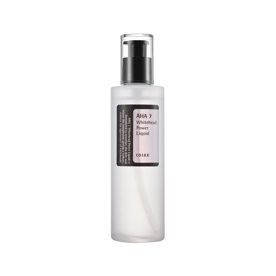 cosrx aha whitehead power liquid best cosrx products for oily acne prone skin