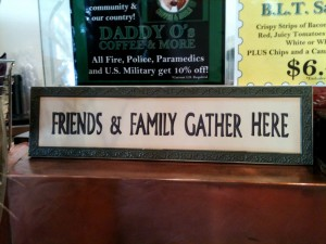 Daddy O's Coffee and More: Friends & Family