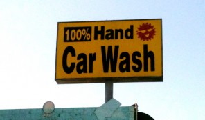Cars Hand-Washed in Koreatown LA
