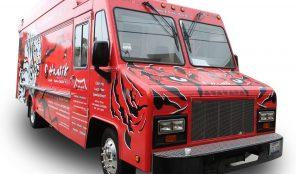 Hanshik food truck in LA