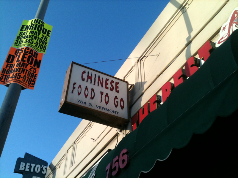 Chinese Food to Go on Vermont Avenue