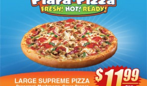 Piara Pizza: Large Supreme
