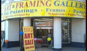 Art Framing Gallery on Western Avenue