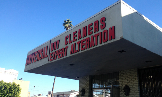 Universal Cleaners on Beverly